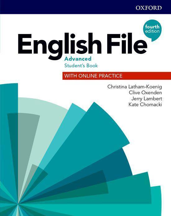 English File - Adv (fourth edition) Student's book + online