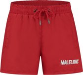 Malelions Junior Nium Swimshort - Red/White - 16 | 176
