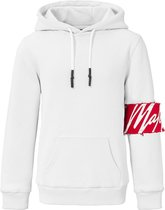Malelions Junior Captain Hoodie - White/Red