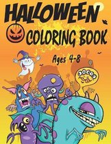 Halloween Coloring Book: Happy Halloween Coloring and Activity Book for Kids: Coloring, Dot to Dot, Puzzles, Drawing, Word search & Mazes ! Coloring Workbooks for Kids