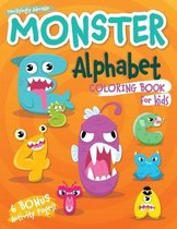 Monster Alphabet Coloring Book for Kids