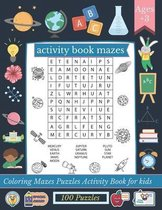 activity book mazes: Mazes For Kids Ages 4-8
