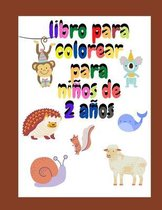 libro para colorear para ninos de 2 anos
