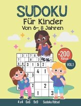 Sudoku fur Kinder Von 6-8 Jahren