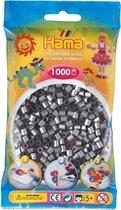 Strijkparels Hama - 1000 stuks - Zilverkleurig
