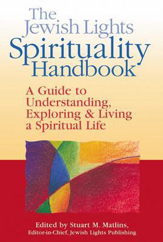 Boek cover Jewish Lights Spirituality Handbook van Isa Aron (Paperback)