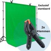 ProTools Green Screen 200 x 160 cm - Maat M - Exclusief opzet stangen