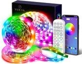 Yurda Smart Led Strip - 10 meter - RGB - Inclusief afstandsbediening - Bediening via App - Wifi led strip 10 meter - Led Light Strip - 16 miljoen kleuren