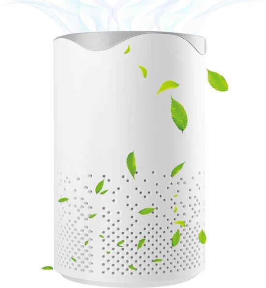 Luchtreiniger - Air Purifier - Mini Luchtreiniger met Ionisator / Actieve Koolstof - Vervangbaar HEPA Filter - UV lamp