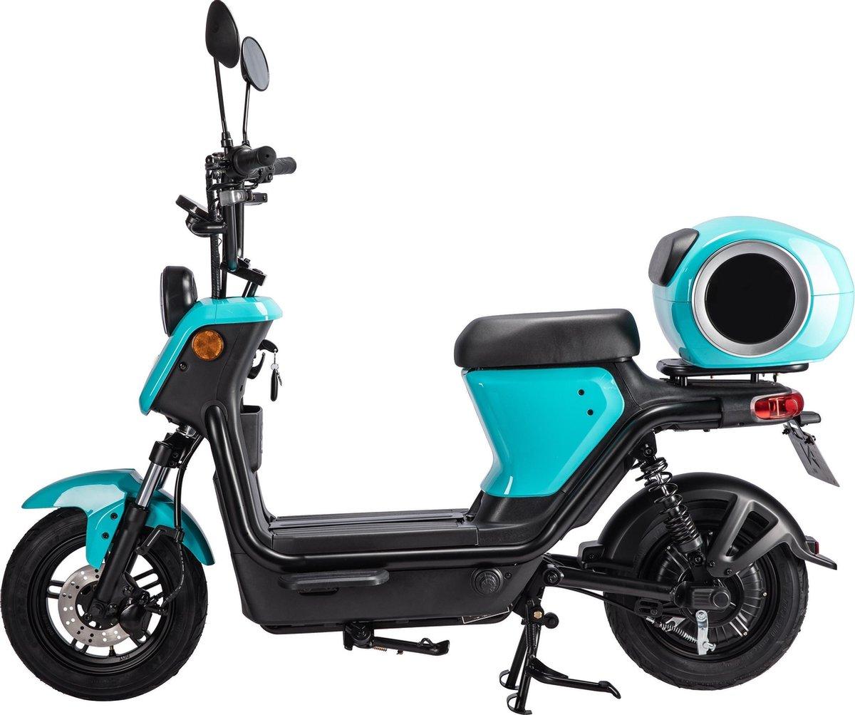 Evomaxx E-Trend Blue + BOSCH motor, krachtige Lithium-ion accu,actieradius 50-80KM*