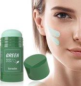 Green Mask Stick en tweede Green Mask Stick GRATIS!  - Huidverzorging - Gezichtsmasker - Natuurlijke producten - verzorgend - verkoelend - hydraterend - black head verwijderen - mee-eters - verzachtend