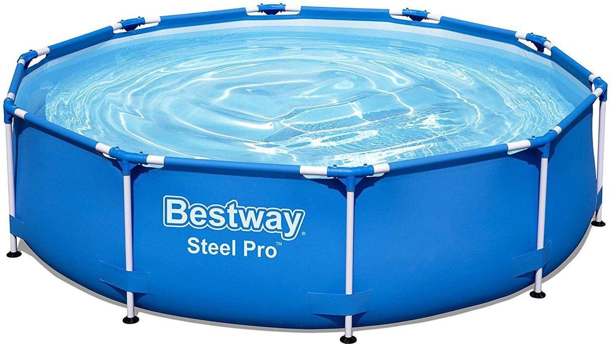 Bestway Steel Pro Zwembad rond 366x76 cm stalen frame 56706