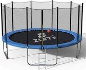 Zumi - Trampoline - Ø 305cm - Trampoline met veiligheidsnet - Hoogte 67 cm - Incl. trap - Weerbestendig - PVC rand