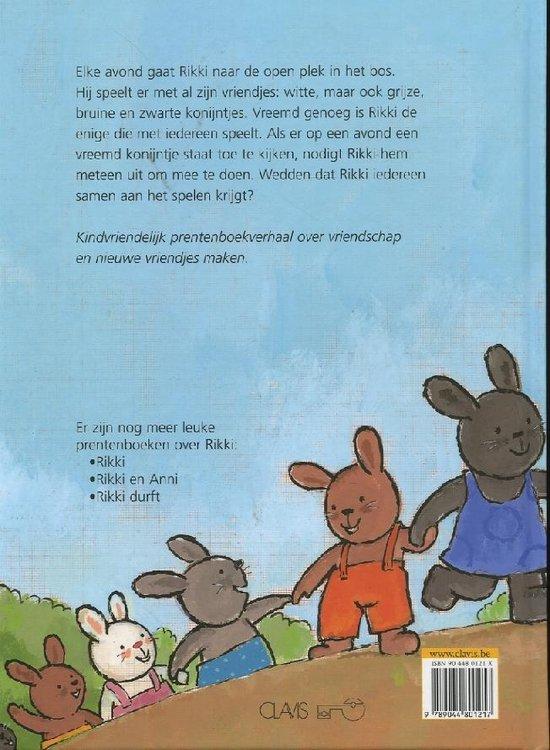 Kinderboeken Clavis Prentenboek - Rikki en zijn vriendjes. 4+