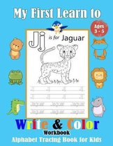 My First Learn to Write & Color Workbook