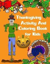 Thanksgiving Activity and Coloring Book for Kids