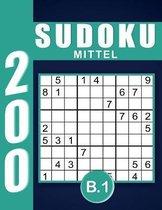Sudoku Erwachsene Mittel Band 1