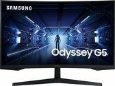 Samsung Odyssey G5 2021 LC32G53TQWRXEN - QHD Curved Gaming Monitor - 144hz - 32 inch