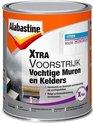 Alabastine Xtra Vochtige Muren en Kelders Voorstrijk - Wit - 1 liter