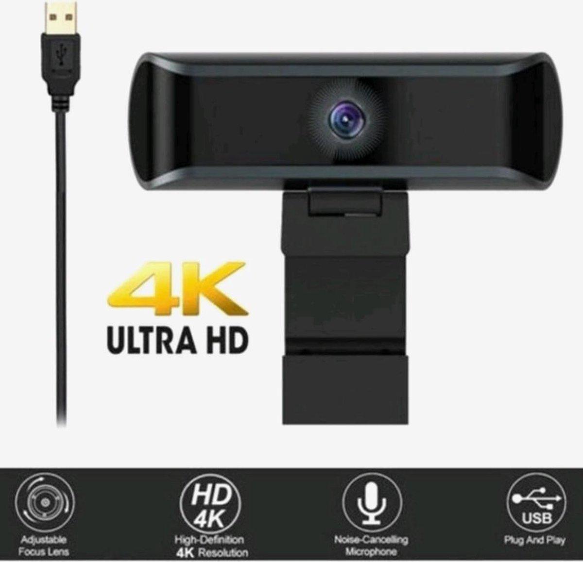 Webcam - laptop - Scherp - ultra hd - usb