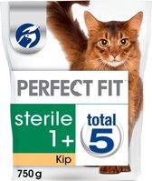 Perfect Fit Sterile Adult 1+ Brokjes - Kip - Kattenvoer - 4 x 750g