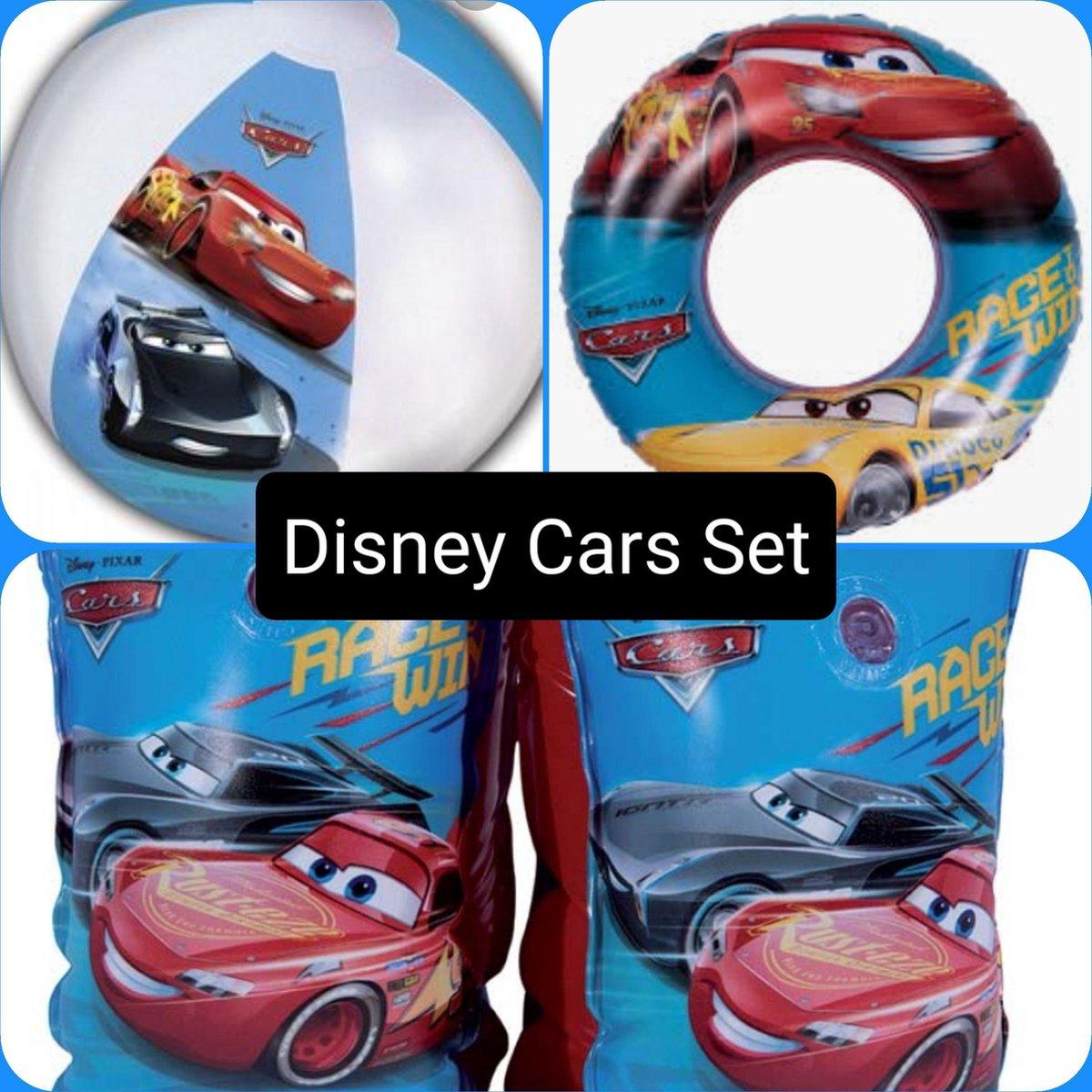 Cars Zwembad Pakket , Zwembandjes & Zwemband & Strandbal, Kinderen, Verjaardag, Zomer, Disney