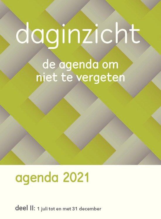 Afbeelding van Daginzicht Agenda 2021 Deel II