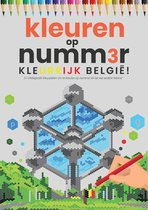Kleuren op Nummer voor Volwassenen | Kleurrijk België! | Kleurboek voor volwassenen | Kleuren op Numm3r | Color by Number | Kleuren Volwassenen | Vakantieboek