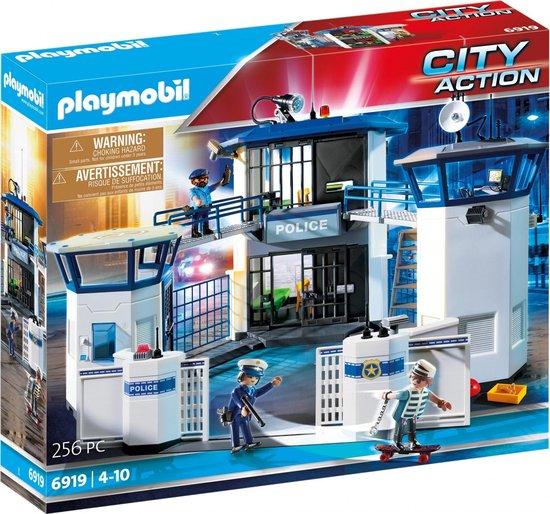 PLAYMOBIL City Action Politiebureau met gevangenis - 6919