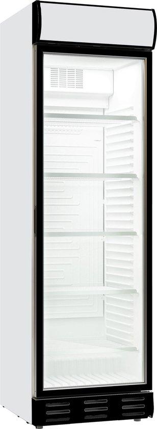 Koelkast: Combisteel - Horeca koelkast - 1 glazen deur - 595(b) x 650(d) x 2000(h) mm - 382 Liter, van het merk Combisteel