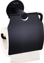 WC Rolhouder - WITTS Toiletrolhouder - Hoge Kwaliteit - Zelfklevend - Badkamer - Badkamer Accessoires