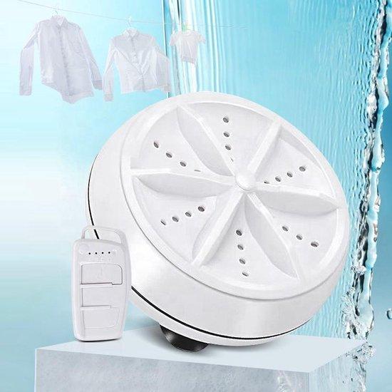 B-care Mini Wasmachine - Inclusief Afstandsbediening - 2kg Wascapaciteit - Camping Wasmachine en Vaatwasser - Mini Wasmachine met Centrifuge - Kleine Wasmachine - Kleine Vaatwassers - Handwasmachine - Voor Kleine Was