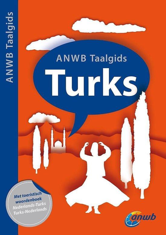 Cover van het boek 'ANWB Taalgids Turks'