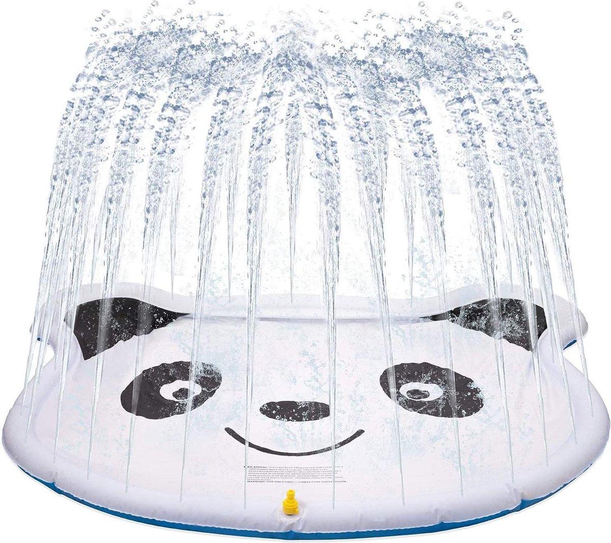 Watermat panda met sproeier