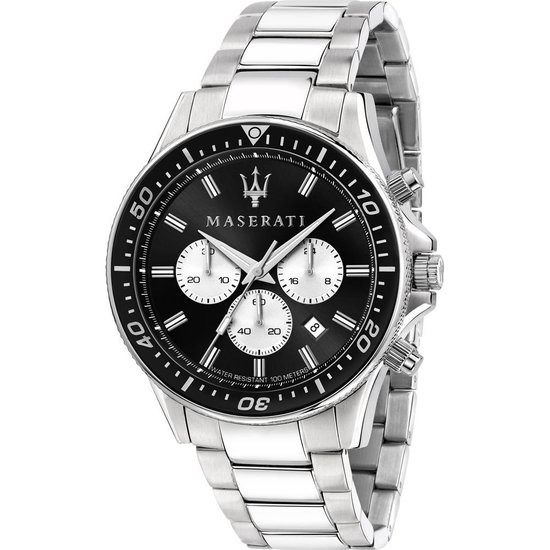 Maserati – Heren Horloge R8873640004 – Zilver