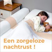 Deryan Luxe Bedhekje - Veiligheidsleuningen - bedrand - perfect voor 77 t/m 180 cm en Montessoro-bedden