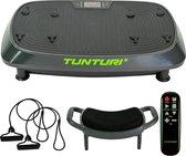 Tunturi Cardio Fit V20 Trilplaat - Vibration plate - met stoel - Zwart