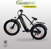 """SachsenRad, Jägernaut , Fat E-Fiets, 26"""" inch Aluminum alloy, Fat Bike, City Bike, E-bike"""