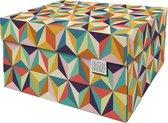Dutch Design Brand - Dutch Design Storage Box - Opbergdoos - Opbergbox - Bewaardoos - Retro - Back to the 60's