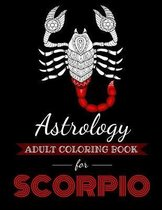 Astrology Adult Coloring Book for Scorpio