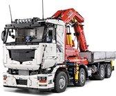 MEGA Radiografische Vrachtwagen / Truck met Kraan Pneumatisch Technic Bouwpakket - Meer dan 8000 Bouwstenen!!! Lego® Compitabel - Toy Brick Lighting