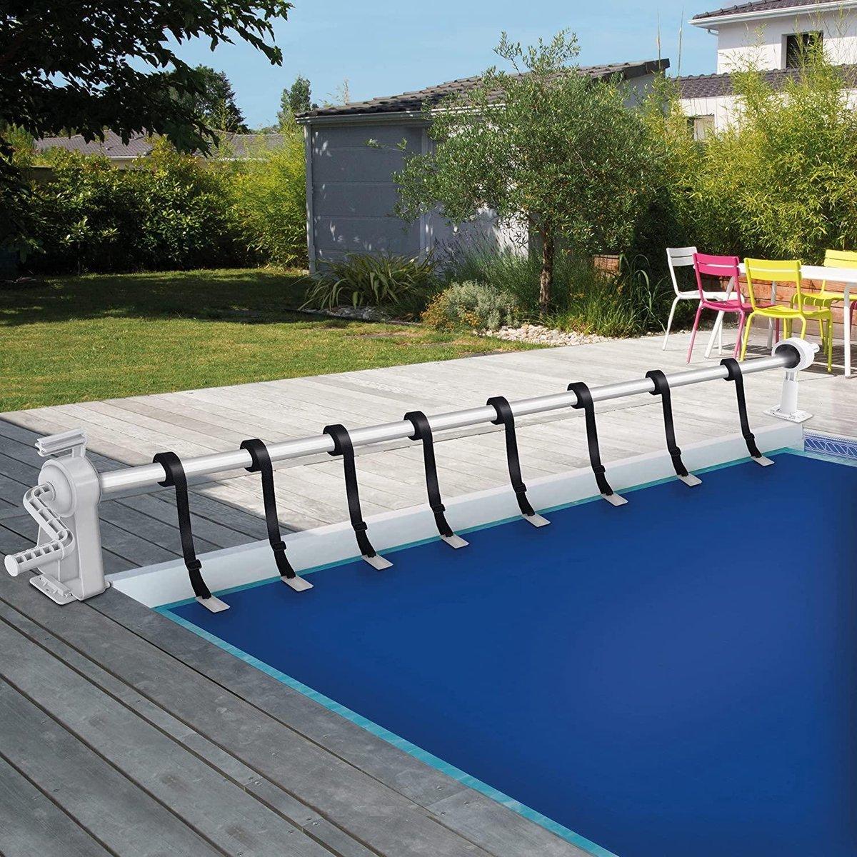 Sens Design Oprolsysteem voor dekzeil en zwembadzeil