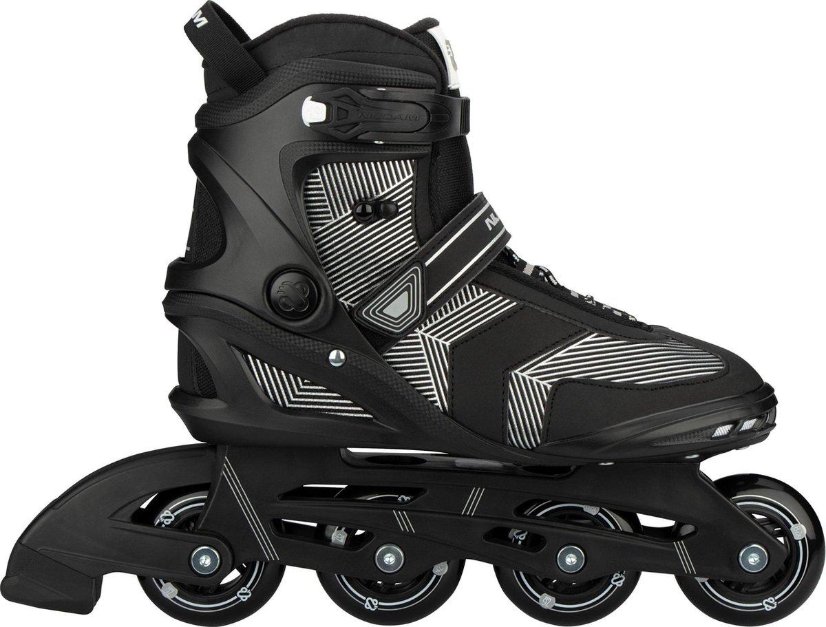 Nijdam Inline Skates Senior - Geo Glitz - Zwart - 45