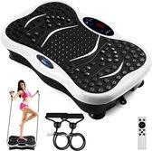 BlueBird Trilplaat Fitness  - Hometrainer - Afvallen - Yoga - Bluetooth Luidspreker - 400W Power Motor - Inclusief Afstandsbediening Rood