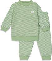 Feetje Wafel Pyjama Groen Summer Special MT. 80