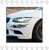 EPIN B.V.   Auto Sticker   Vlammen   Zwart   2 Stuks