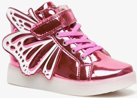 | Blue Box meisjes sneakers met lichtjes Roze