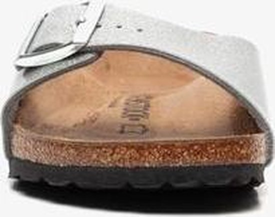 Birkenstock Madrid dames bio slippers - Zilver - Maat 39 LQ7SQTKt