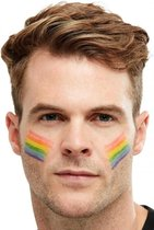 Regenboog vlag schmink stift  - LGBT - Gay Pride