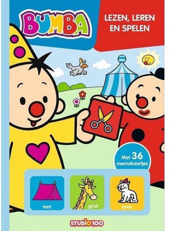 Boek cover Bumba - Lezen, leren en spelen van Gert Verhulst (Hardcover)